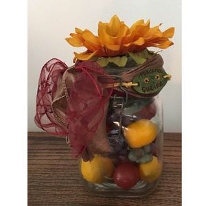 Handmade Accents - ❌SOLD❌     🦋❤️Handmade Tuscan apothecary jar